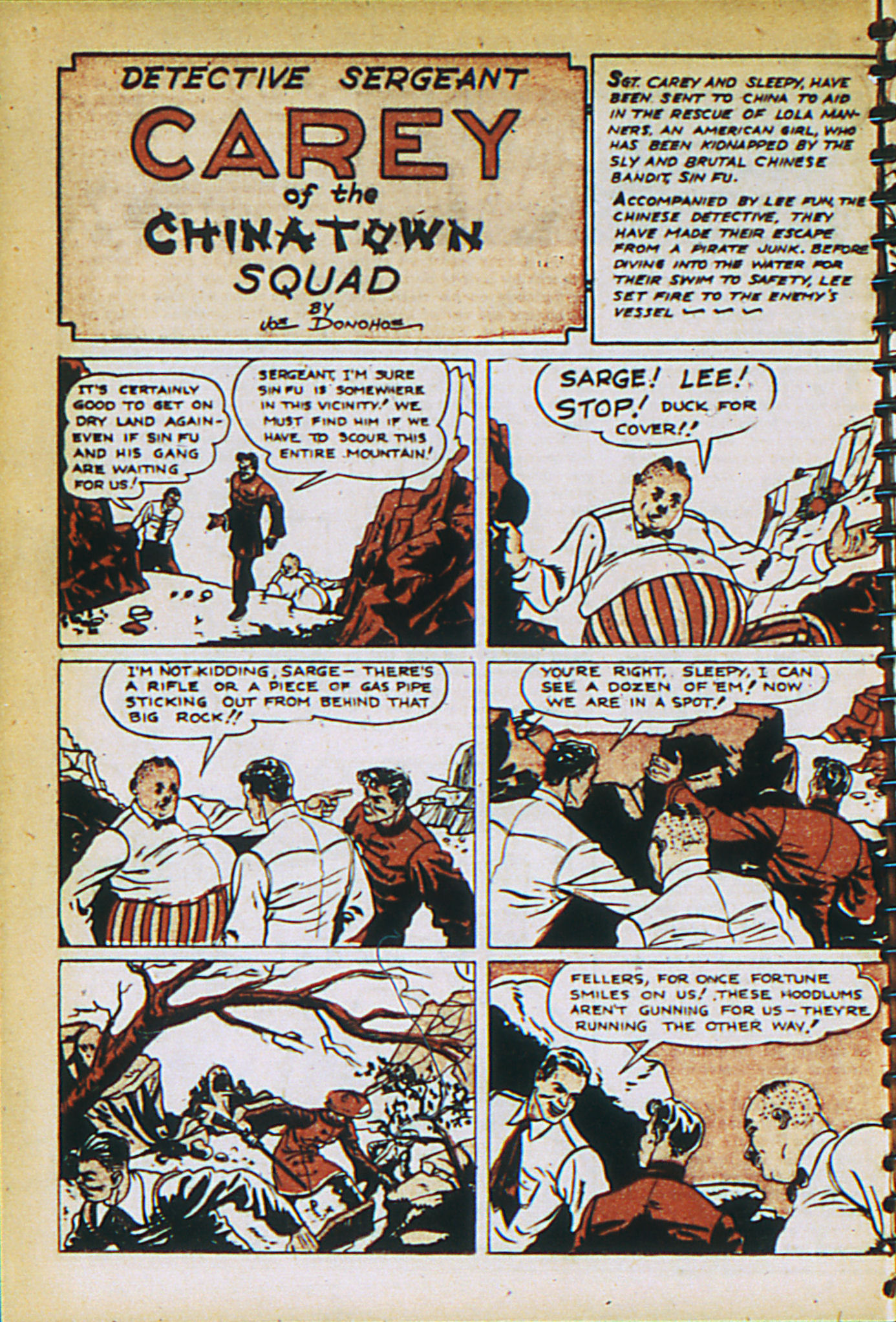 Read online Adventure Comics (1938) comic -  Issue #27 - 22