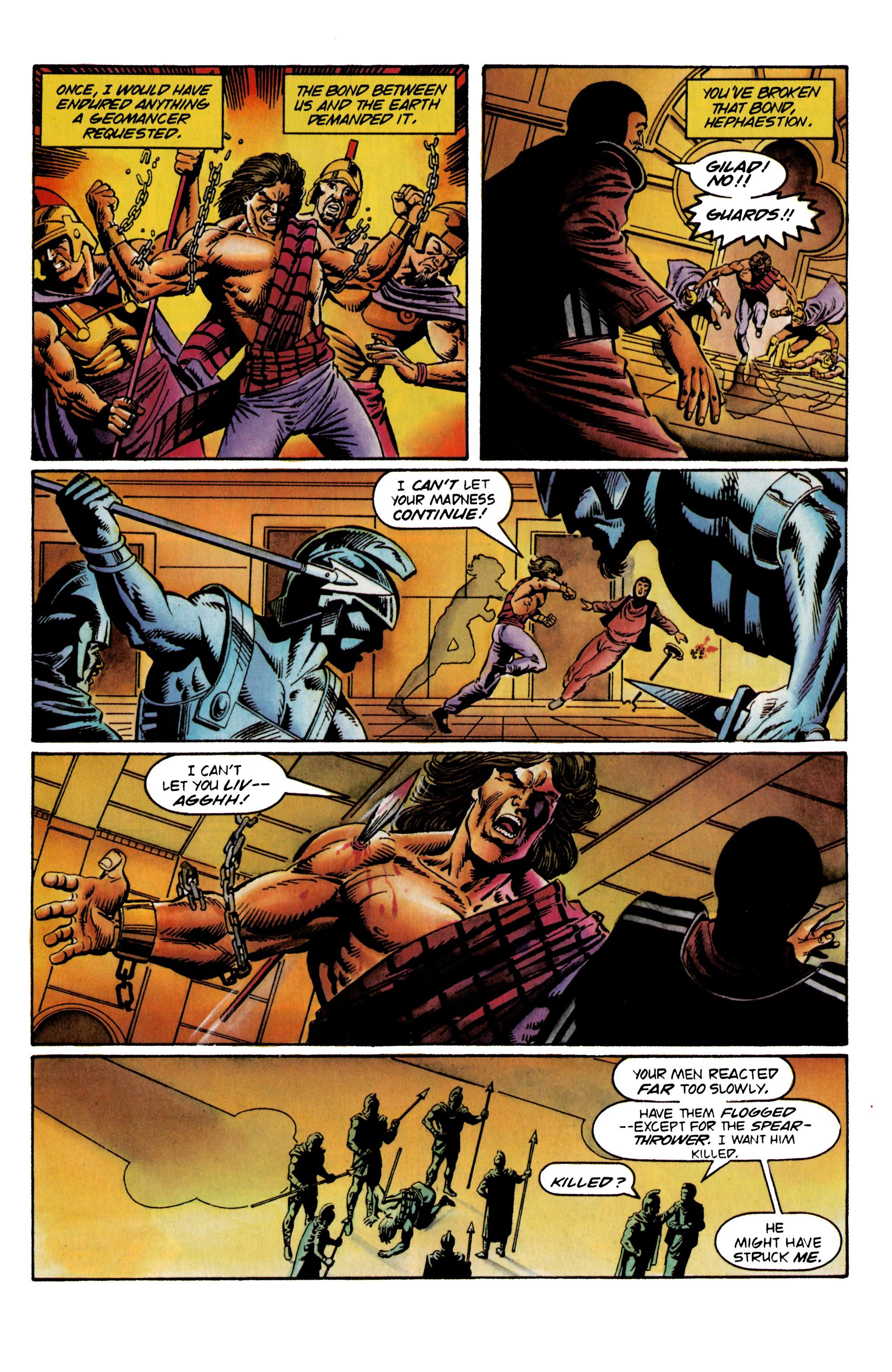 Read online Eternal Warrior (1992) comic -  Issue #23 - 7