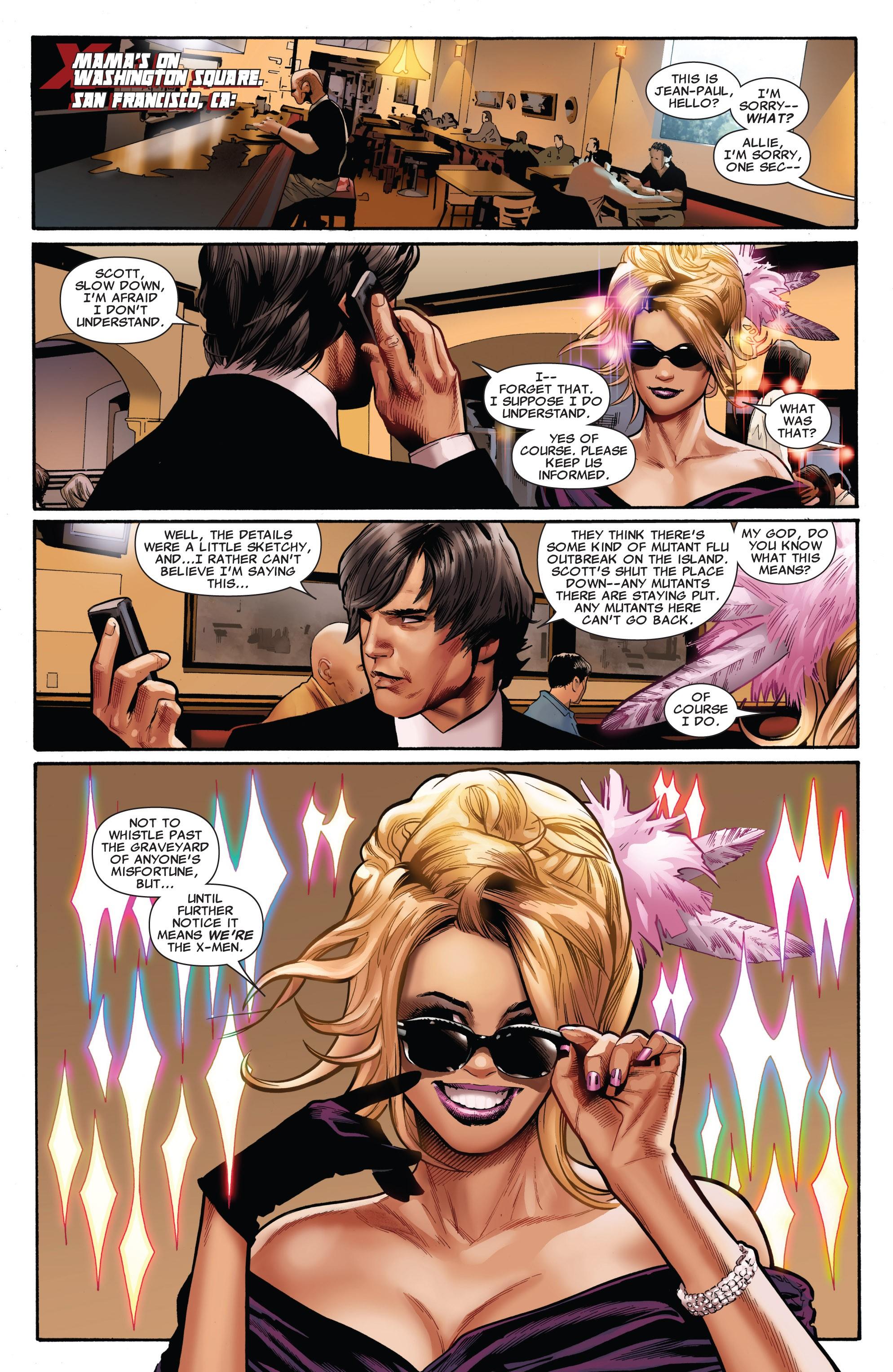 Read online Uncanny X-Men (1963) comic -  Issue #530 - 9