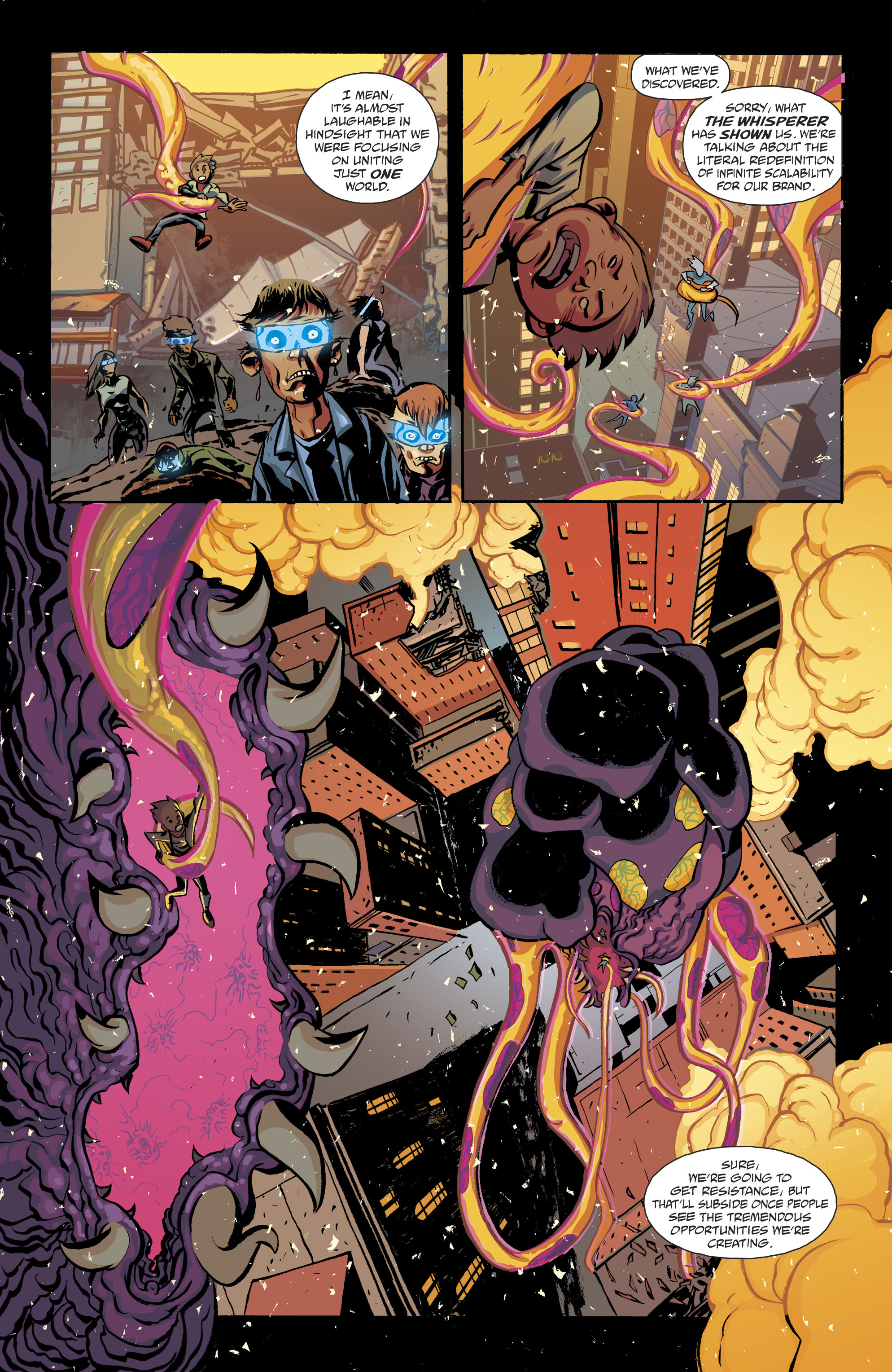 Read online Cave Carson Has a Cybernetic Eye comic -  Issue #8 - 8