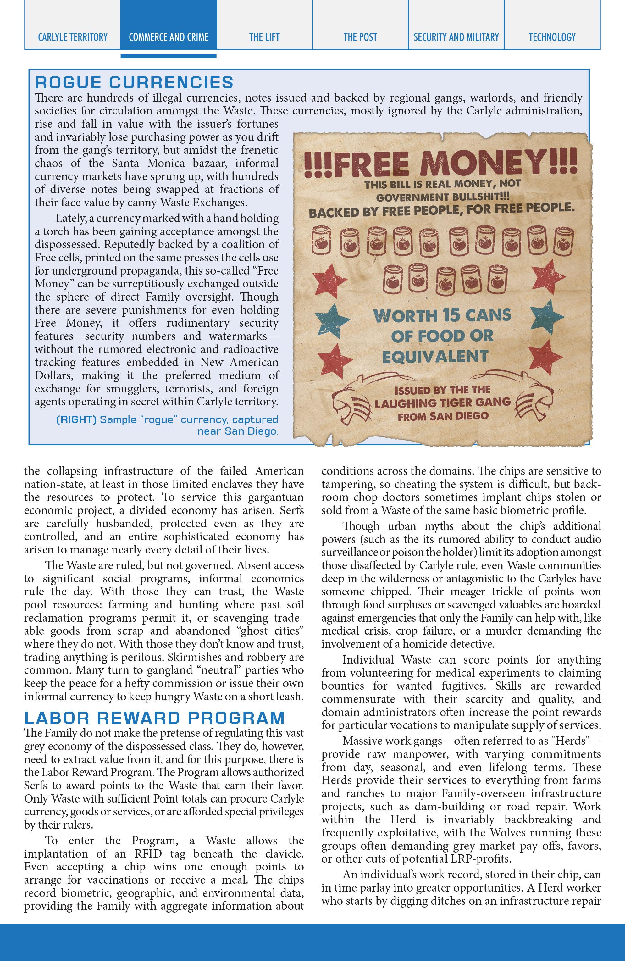 Read online Lazarus Sourcebook comic -  Issue # Vol. 1 - 12