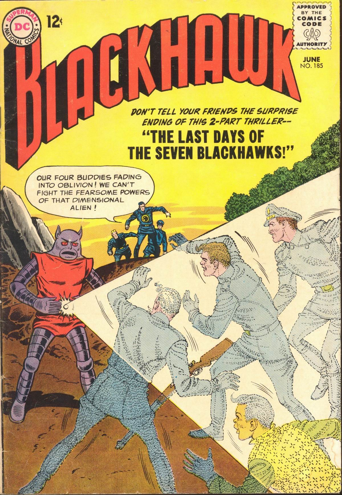 Blackhawk (1957) 185 Page 1