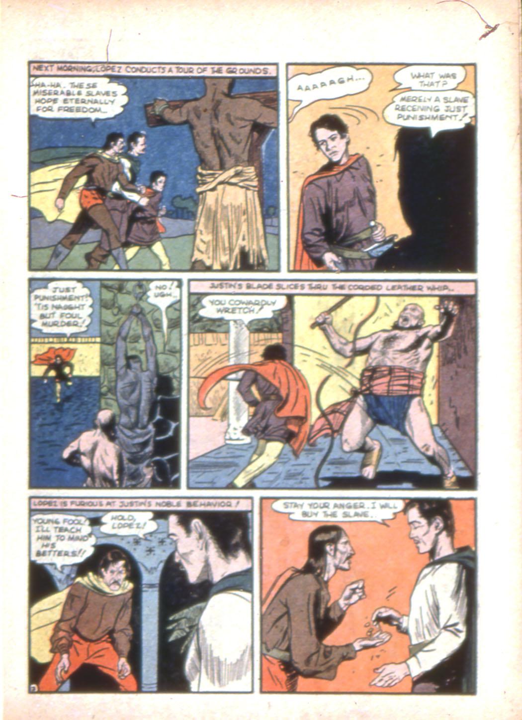 Read online Sensation (Mystery) Comics comic -  Issue #7 - 19