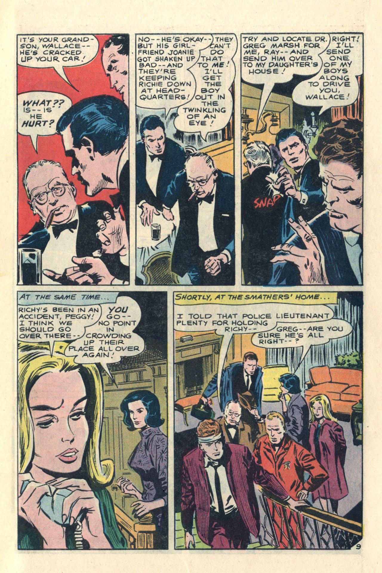 Read online Secret Hearts comic -  Issue #113 - 27