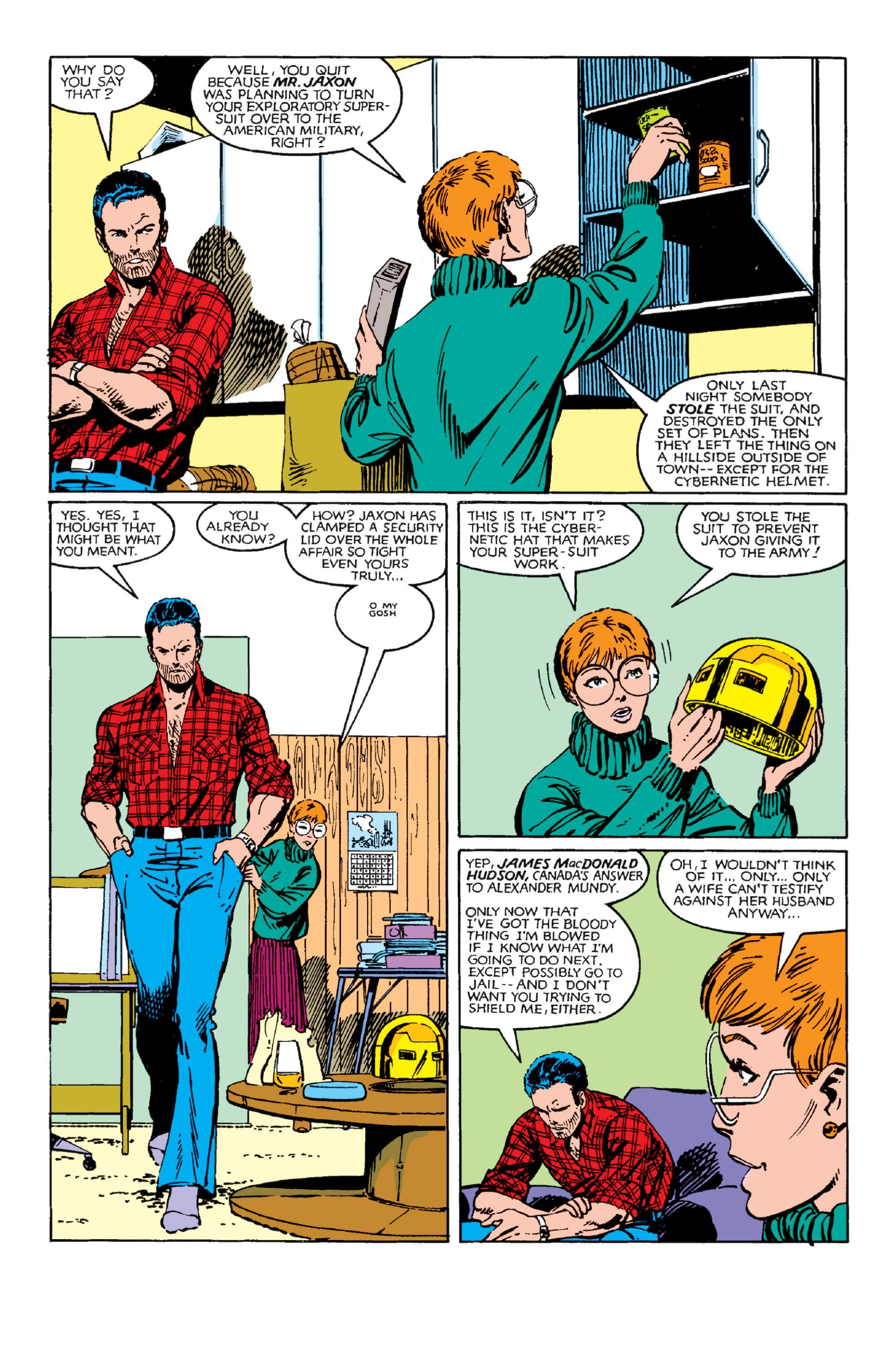 Read online Alpha Flight (1983) comic -  Issue #3 - 18