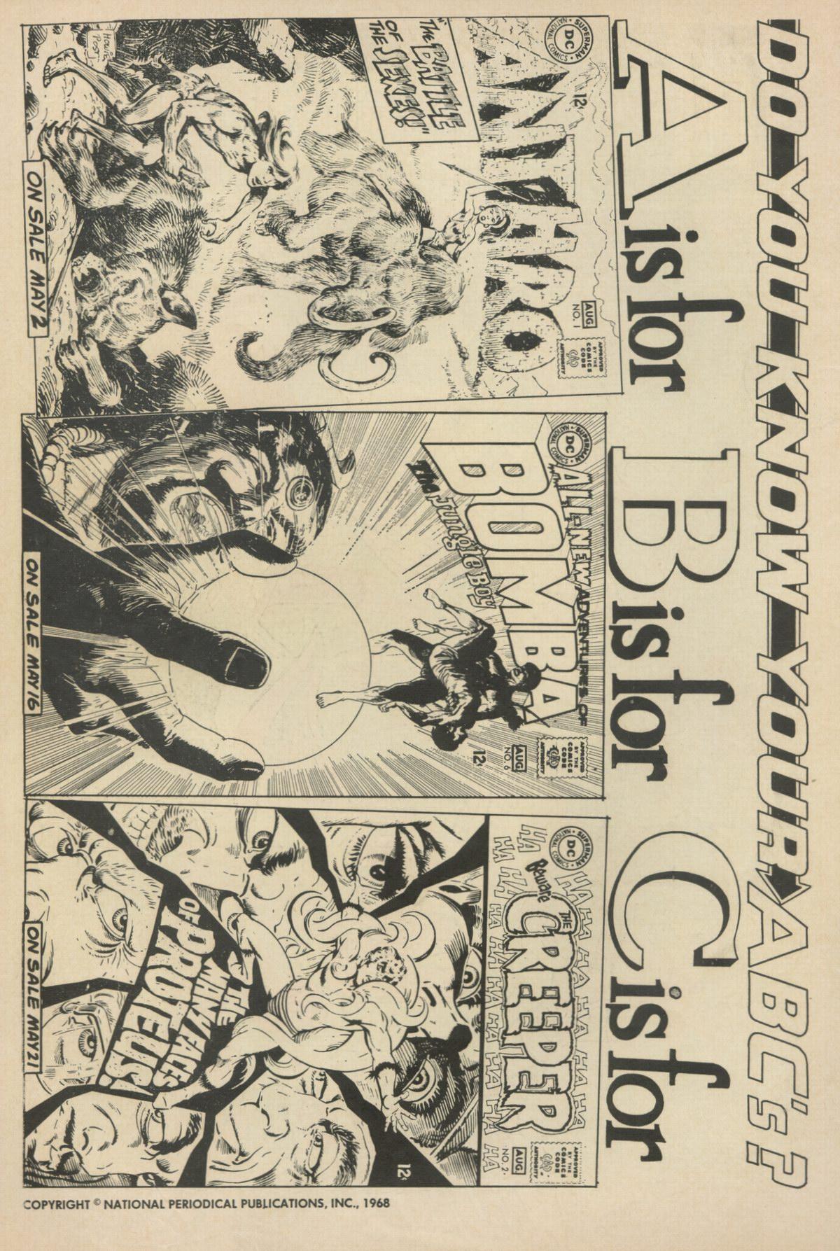 Read online Adventure Comics (1938) comic -  Issue #370 - 2