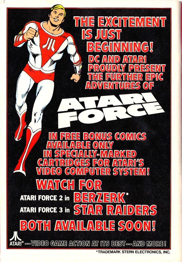 Read online Atari Force (1982) comic -  Issue #1 - 50