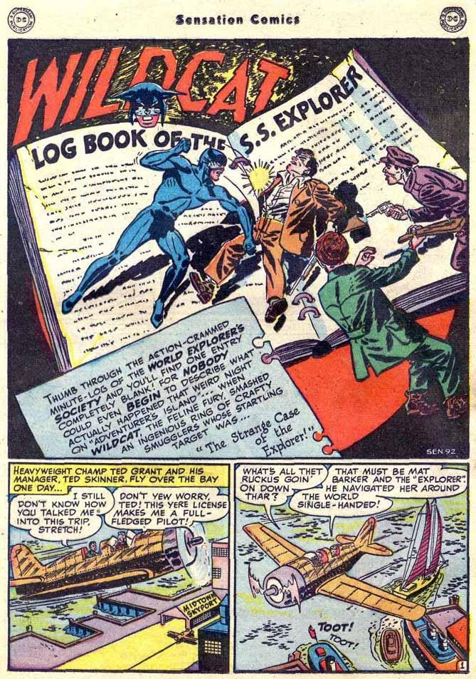 Read online Sensation (Mystery) Comics comic -  Issue #89 - 17