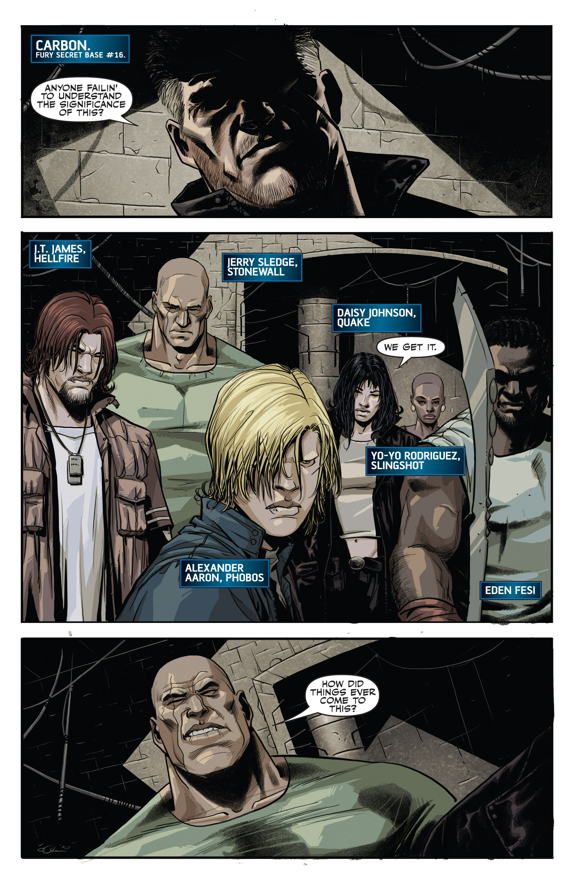 Read online Secret Warriors comic -  Issue #20 - 8