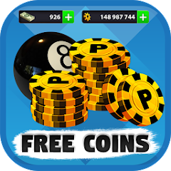 Free 8ball pool coins Apk