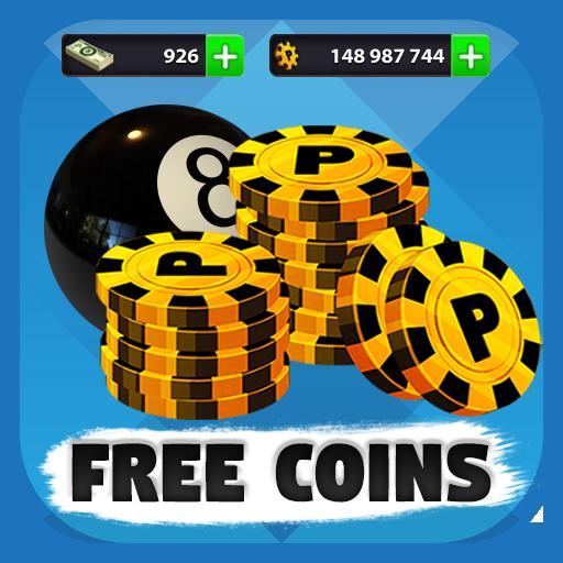 Free 8ball pool coins Apk