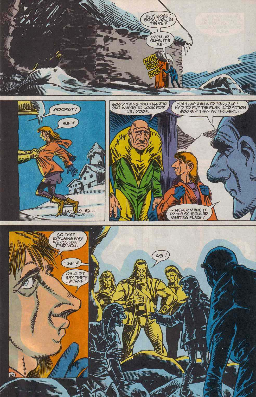 Read online Advanced Dungeons & Dragons comic -  Issue #7 - 11