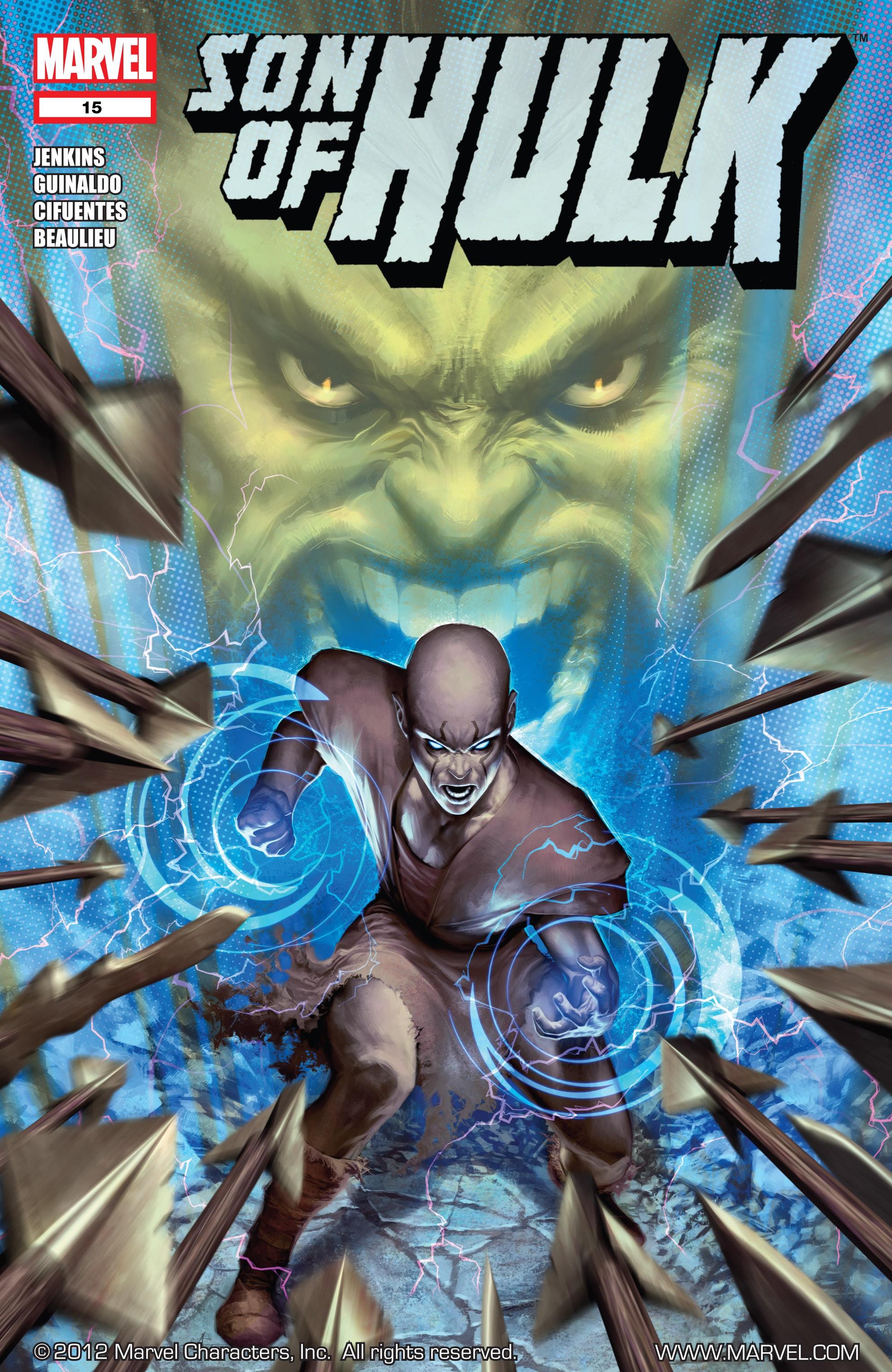 Read online Skaar: Son of Hulk comic -  Issue #15 - 1