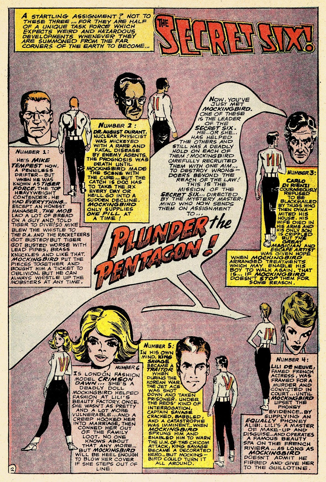 Secret Six (1968) issue 2 - Page 4