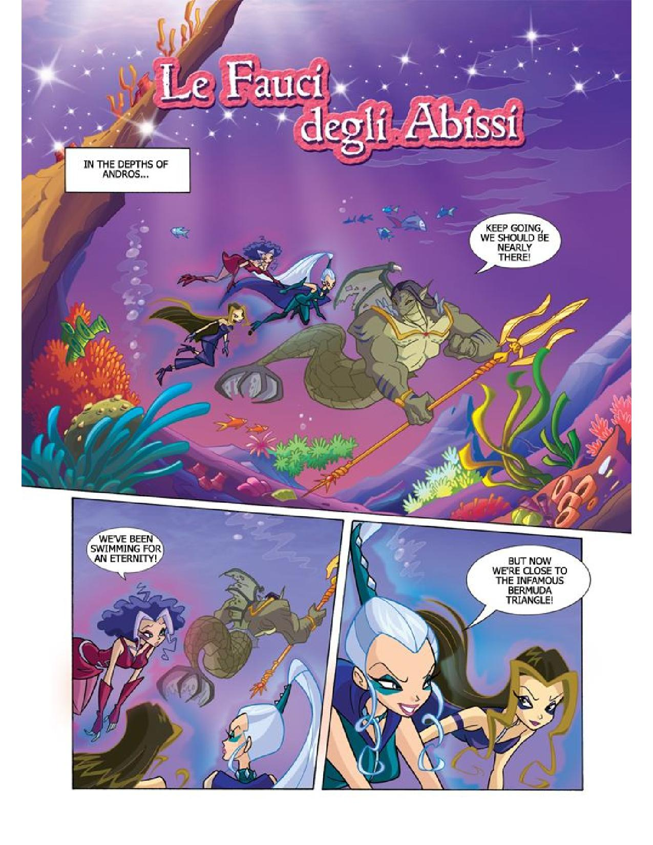 Winx Club Comic 105 Page 1