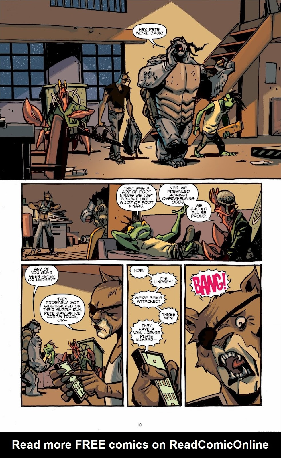 Read online Teenage Mutant Ninja Turtles: The IDW Collection comic -  Issue # TPB 6 (Part 1) - 9