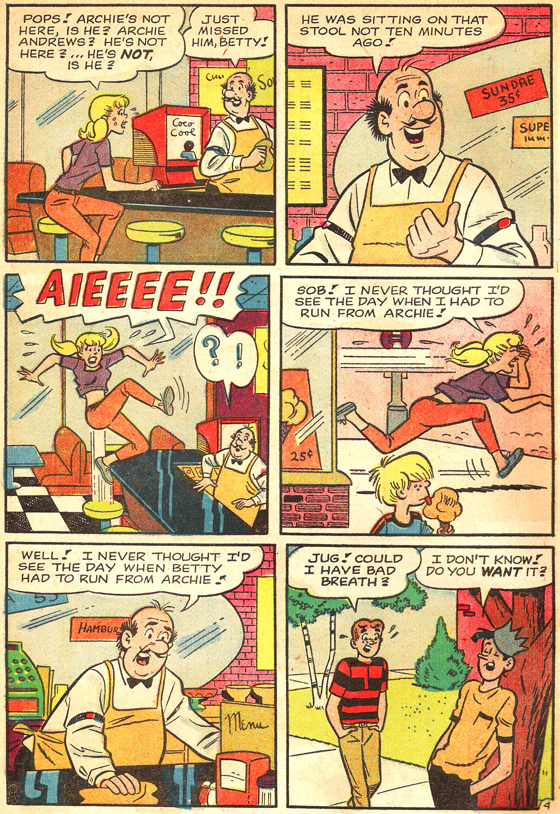 Read online Archie's Girls Betty and Veronica comic -  Issue #133 - 6