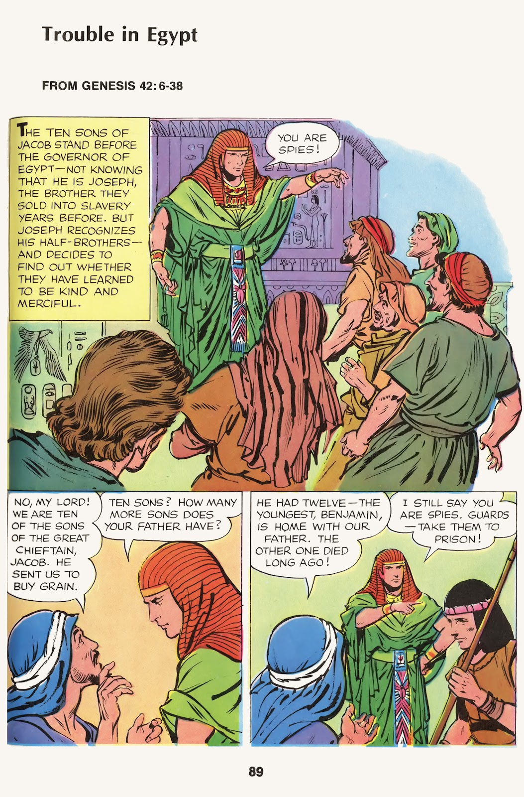 The Picture Bible issue TPB (Part 1) - Page 91