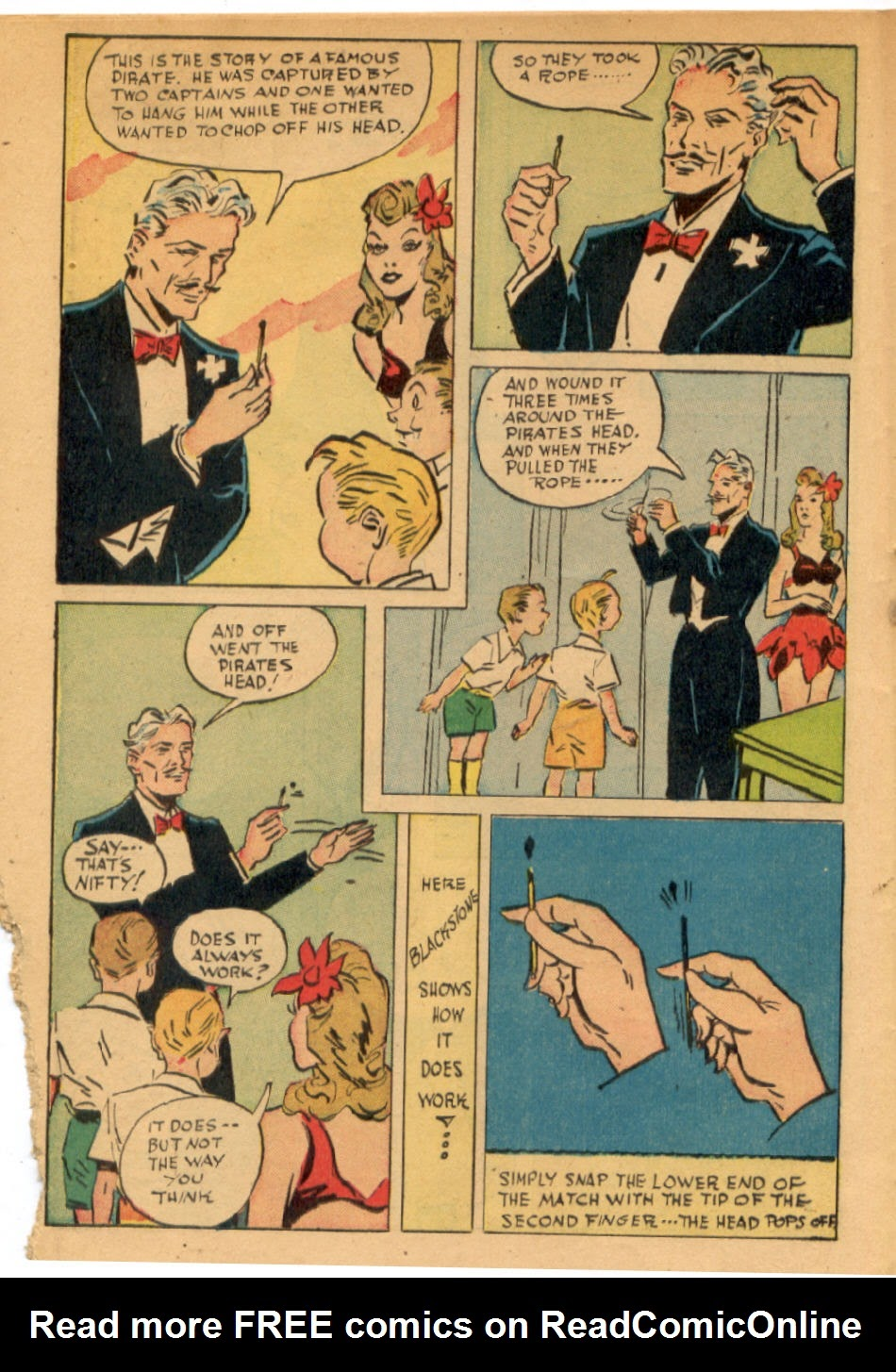 Read online Super-Magician Comics comic -  Issue #43 - 20