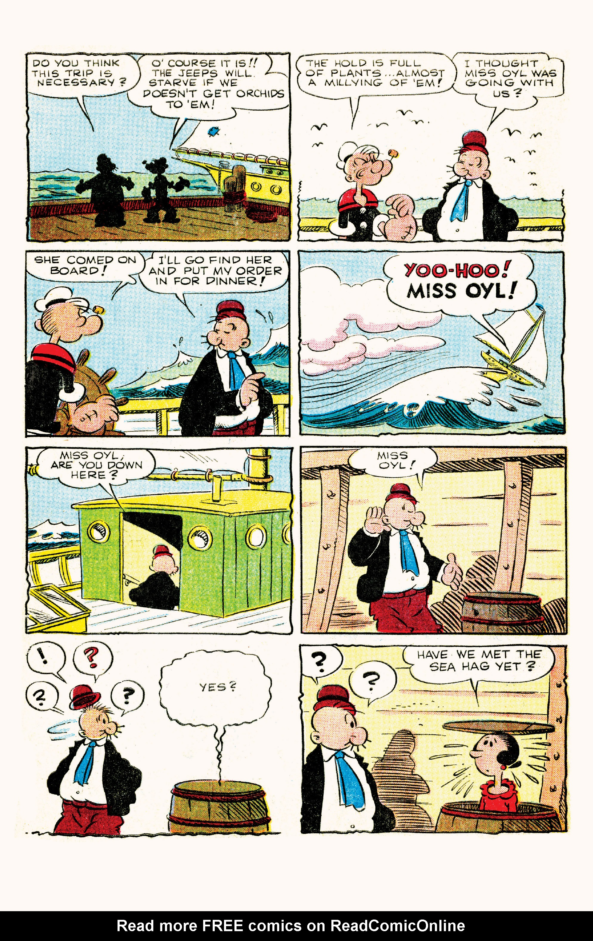 Read online Classic Popeye comic -  Issue #57 - 8