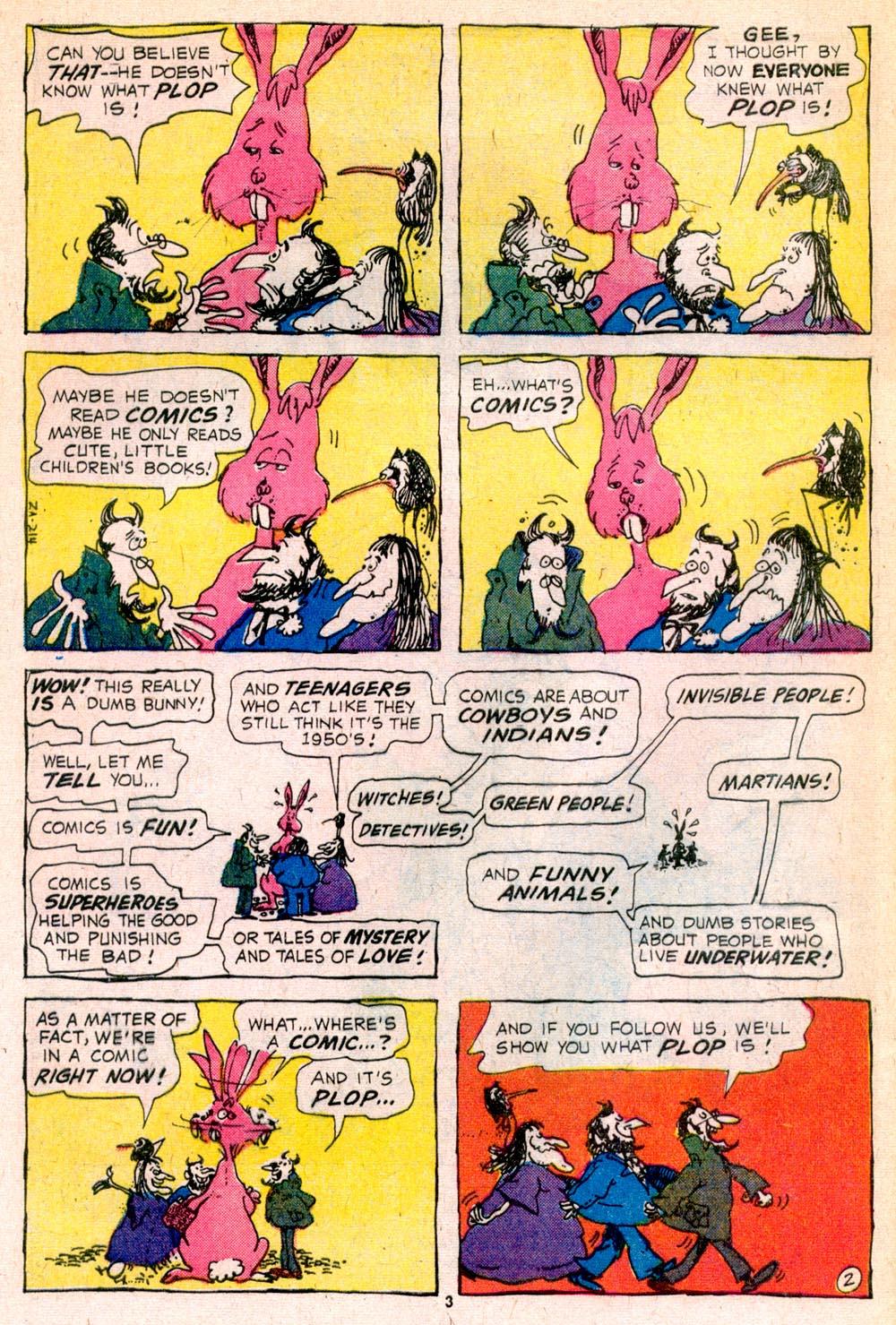 Read online Plop! comic -  Issue #5 - 4