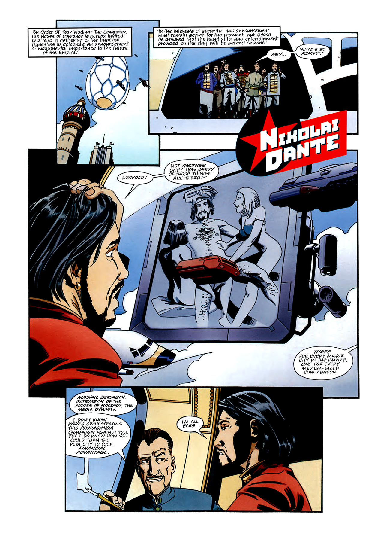 Read online Nikolai Dante comic -  Issue # TPB 3 - 6