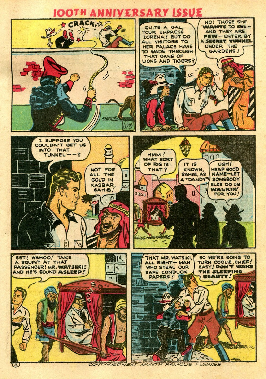 Read online Famous Funnies comic -  Issue #100 - 65