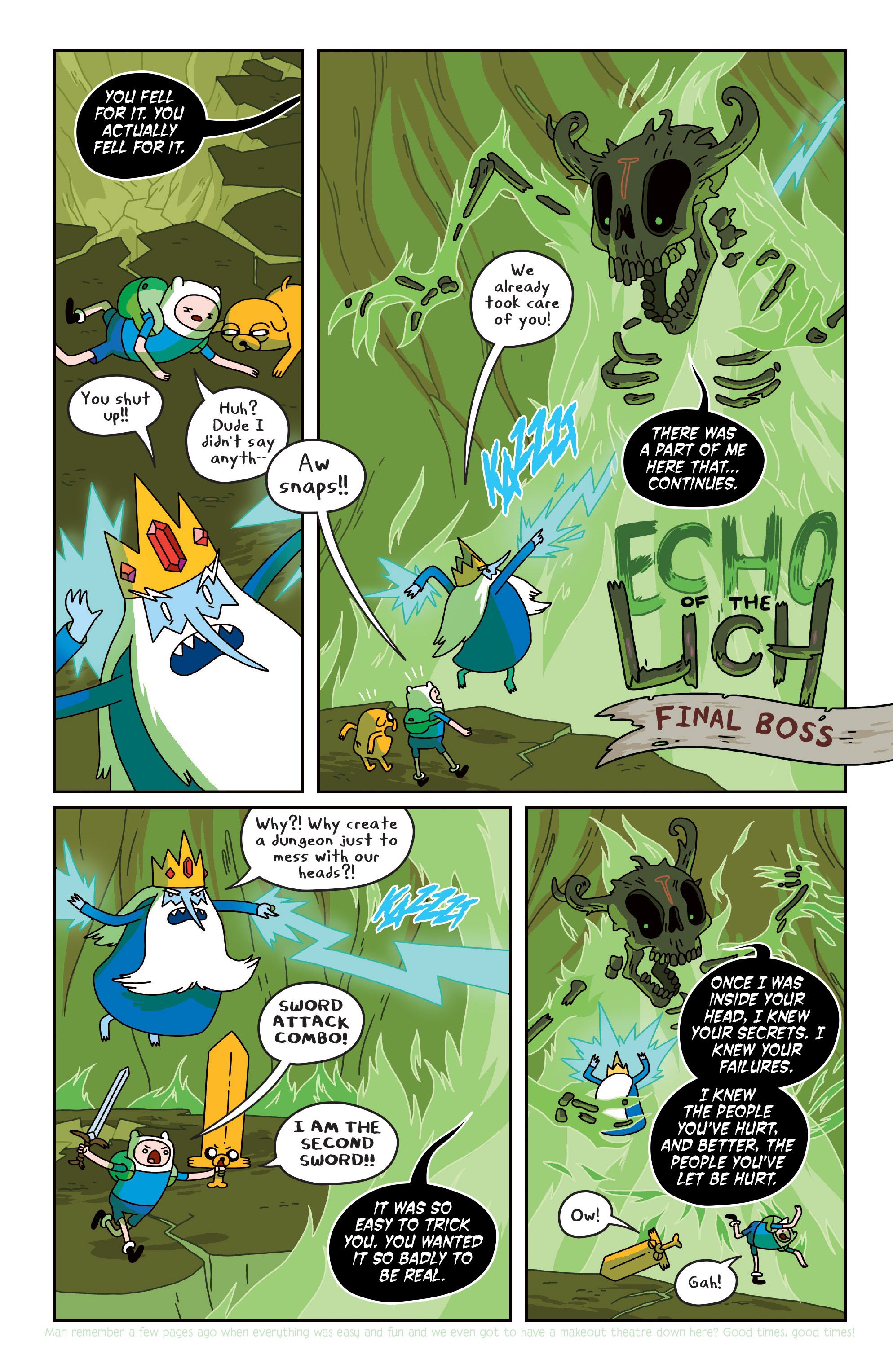 Read online Adventure Time comic -  Issue #Adventure Time _TPB 4 - 92