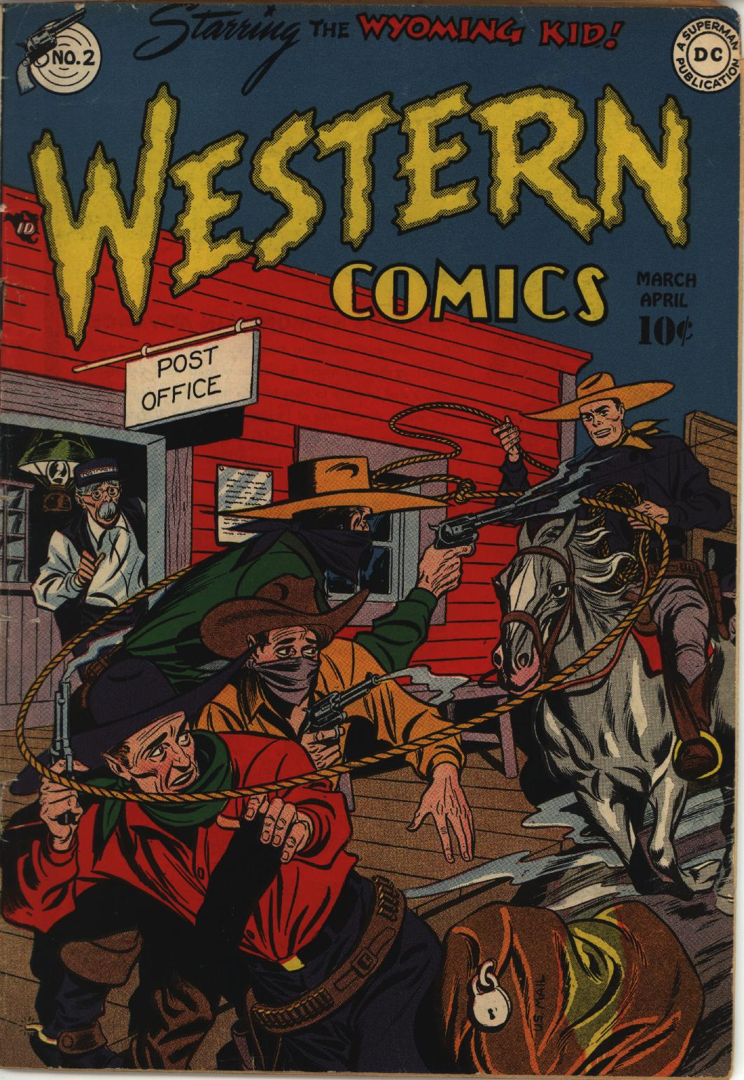 Western Comics issue 2 - Page 1