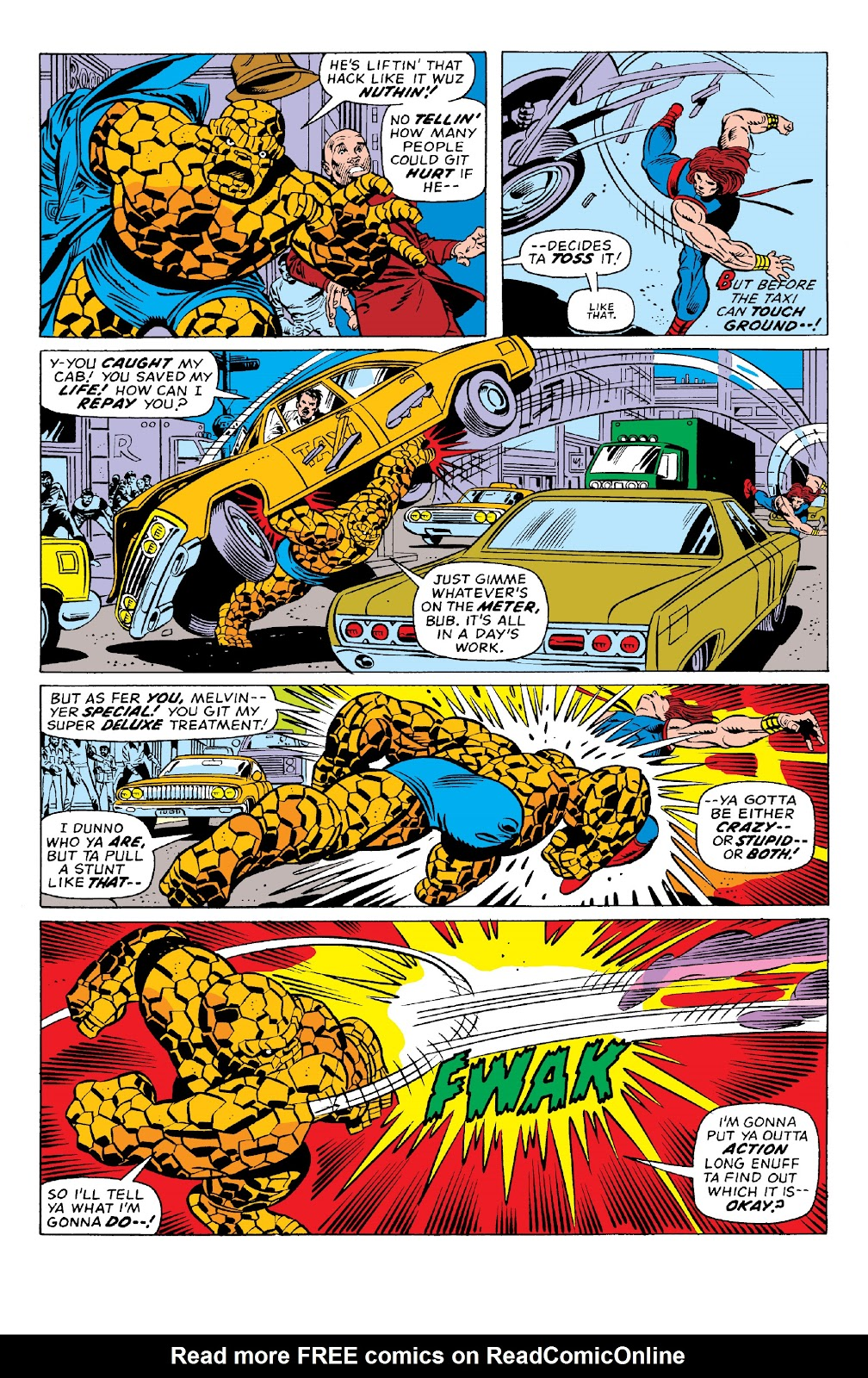 Read online Marvel Two-In-One Epic Collection: Cry Monster comic -  Issue # TPB (Part 1) - 74