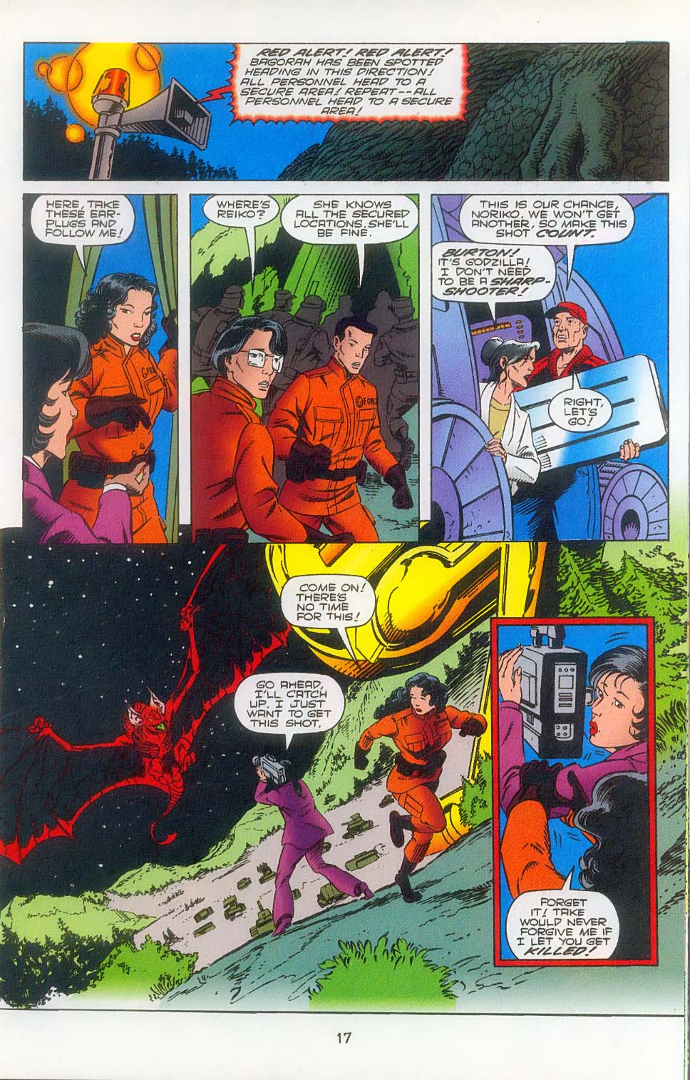 Godzilla (1995) Issue #3 #4 - English 19