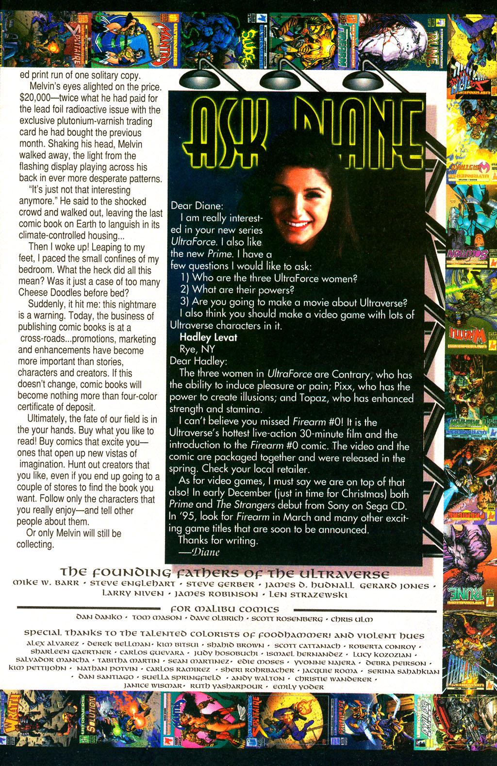 Read online UltraForce (1994) comic -  Issue #0 - 31