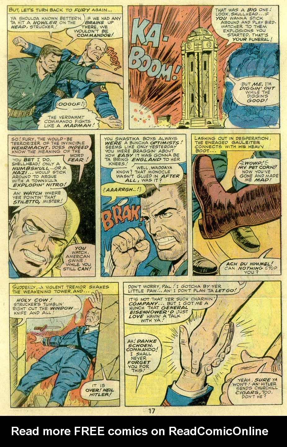 Read online Sgt. Fury comic -  Issue #131 - 19