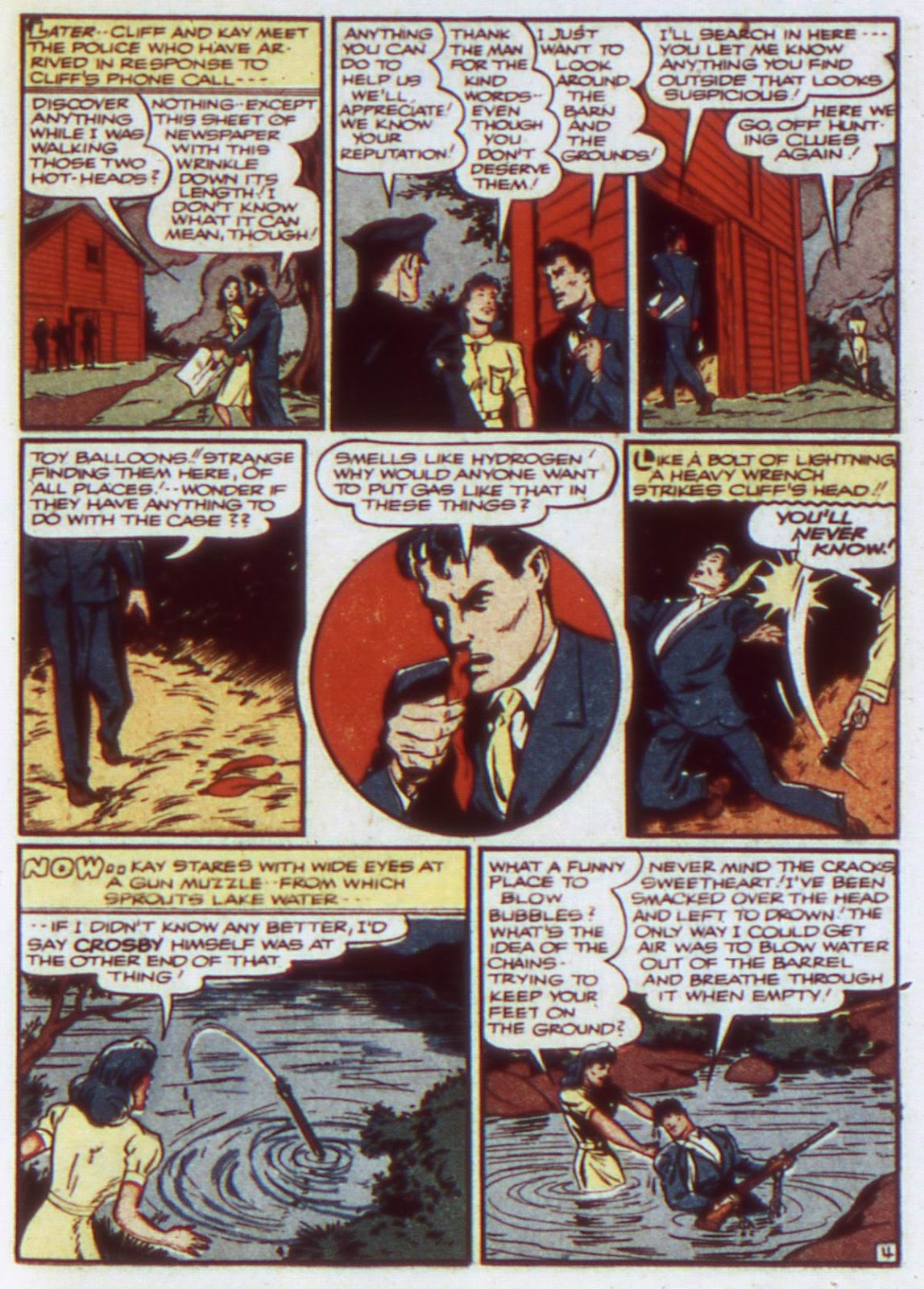 Comic Detective Comics (1937) issue 74
