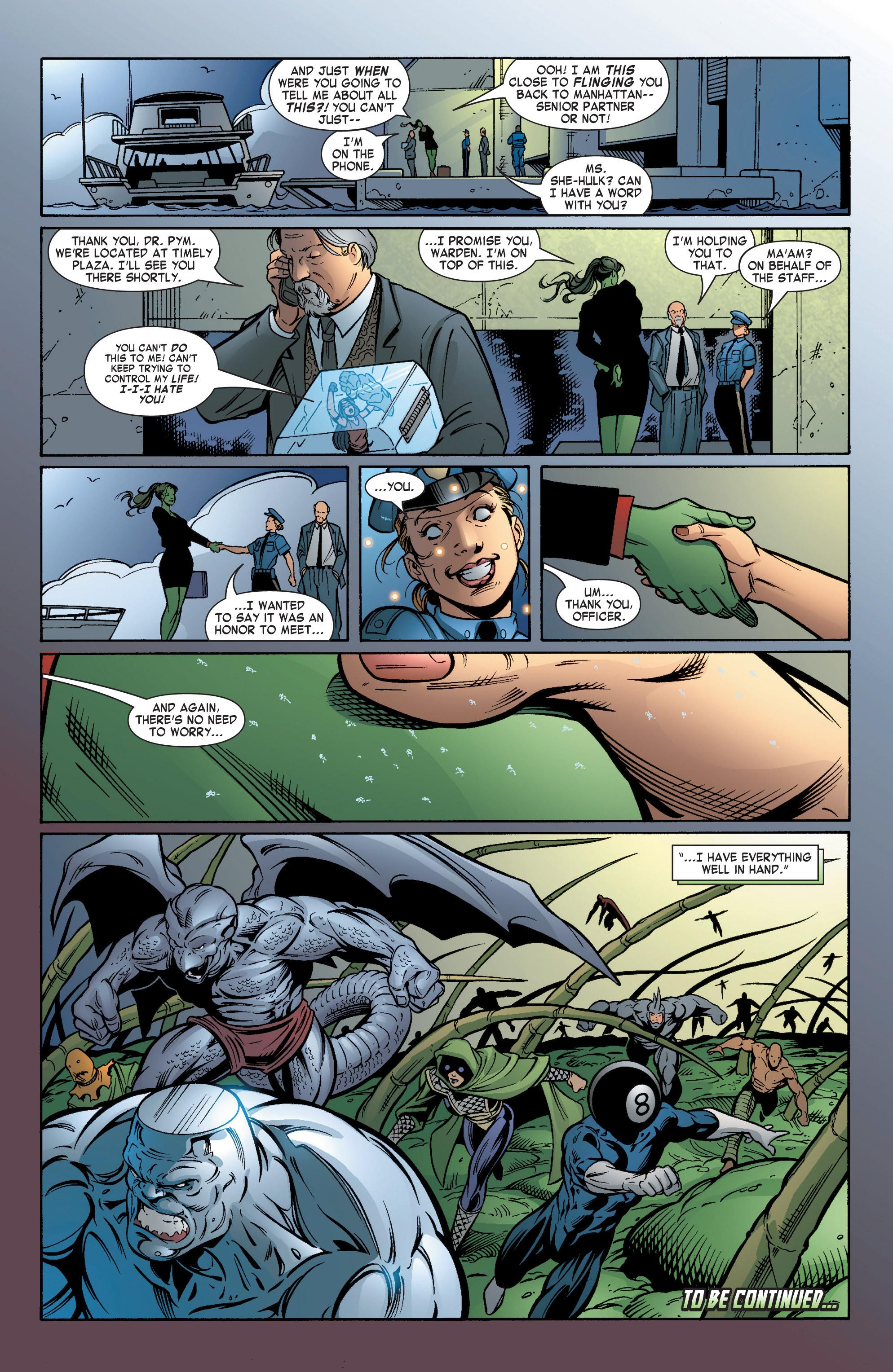 Read online She-Hulk (2004) comic -  Issue #5 - 24