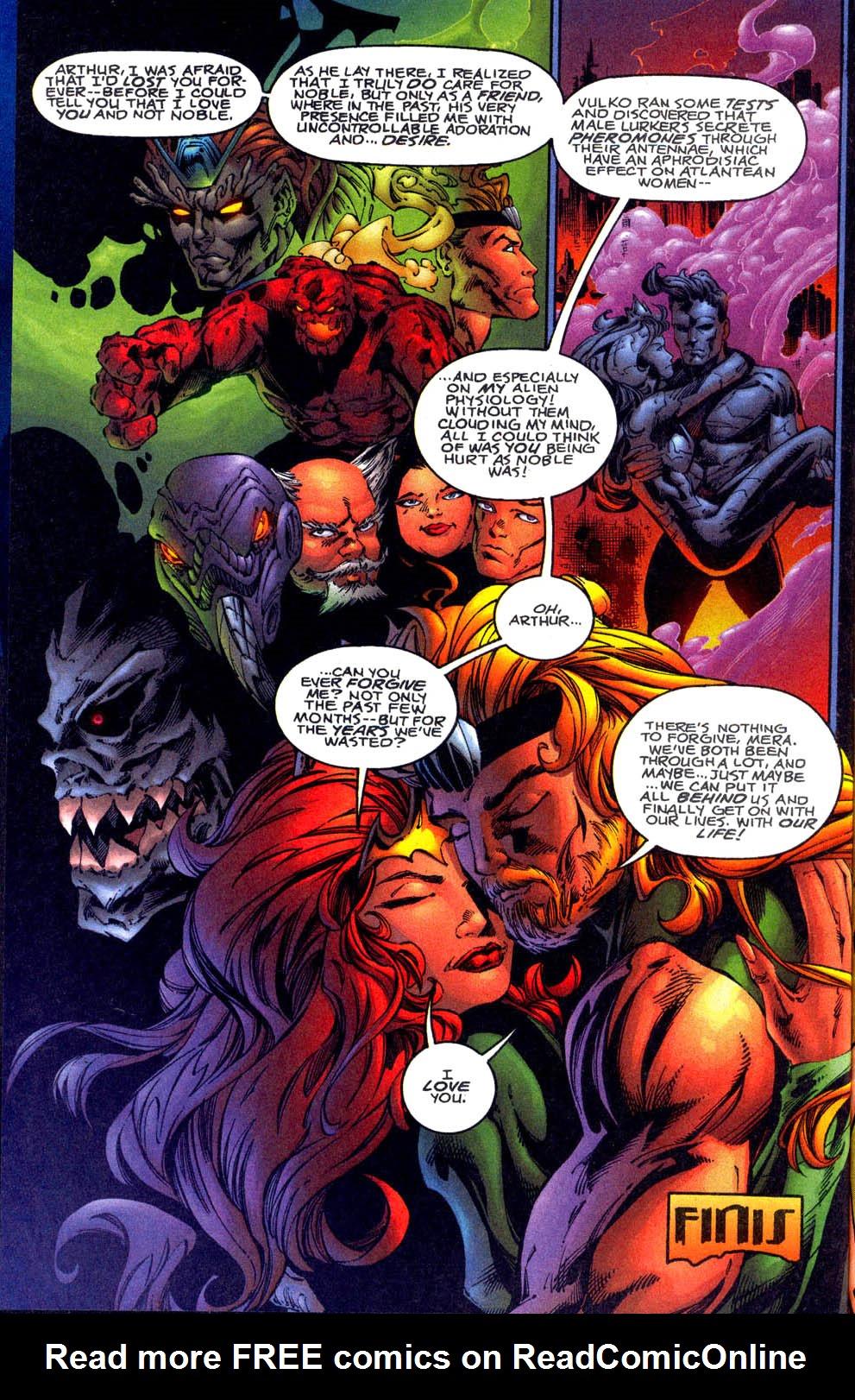 Read online Aquaman (1994) comic -  Issue #61 - 23