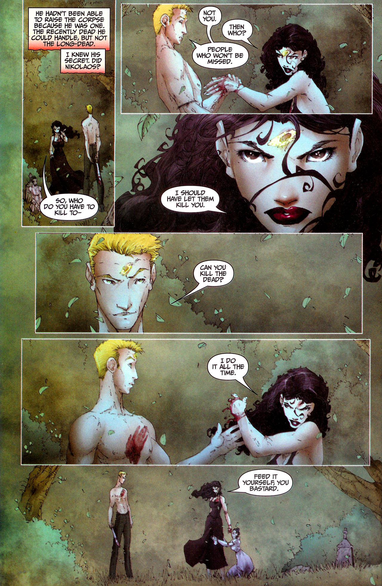 Read online Anita Blake, Vampire Hunter: Guilty Pleasures comic -  Issue #7 - 16