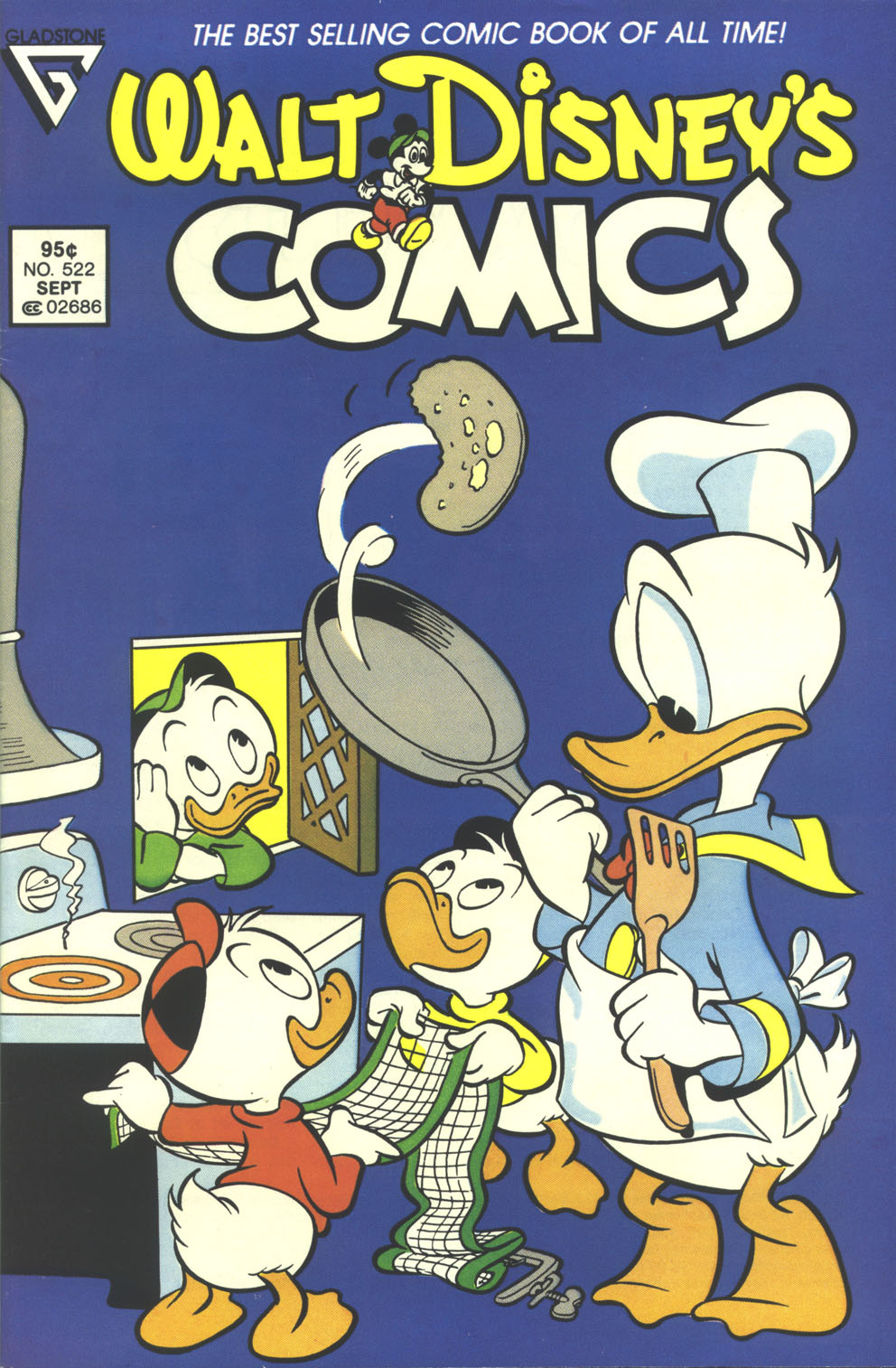 Walt Disney's Comics and Stories issue 522 - Page 1