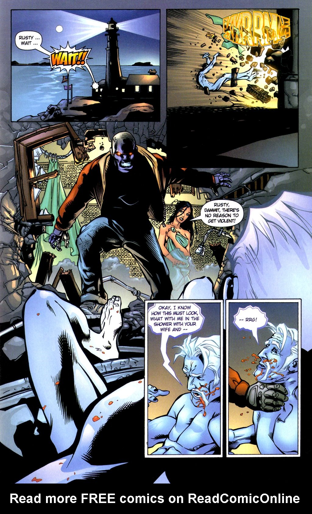 Read online Noble Causes (2002) comic -  Issue #3 - 7