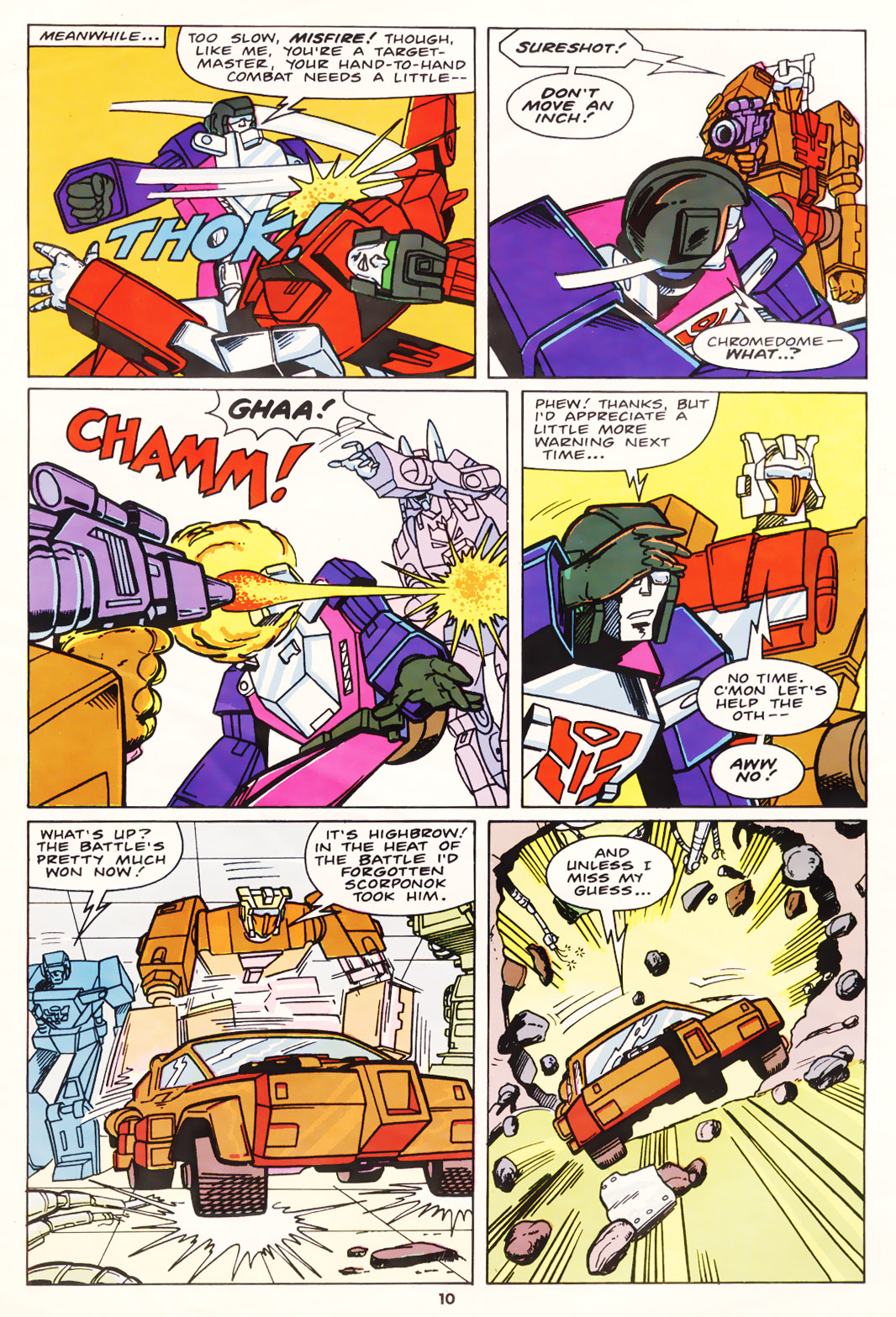 The Transformers (UK) 258 Page 2