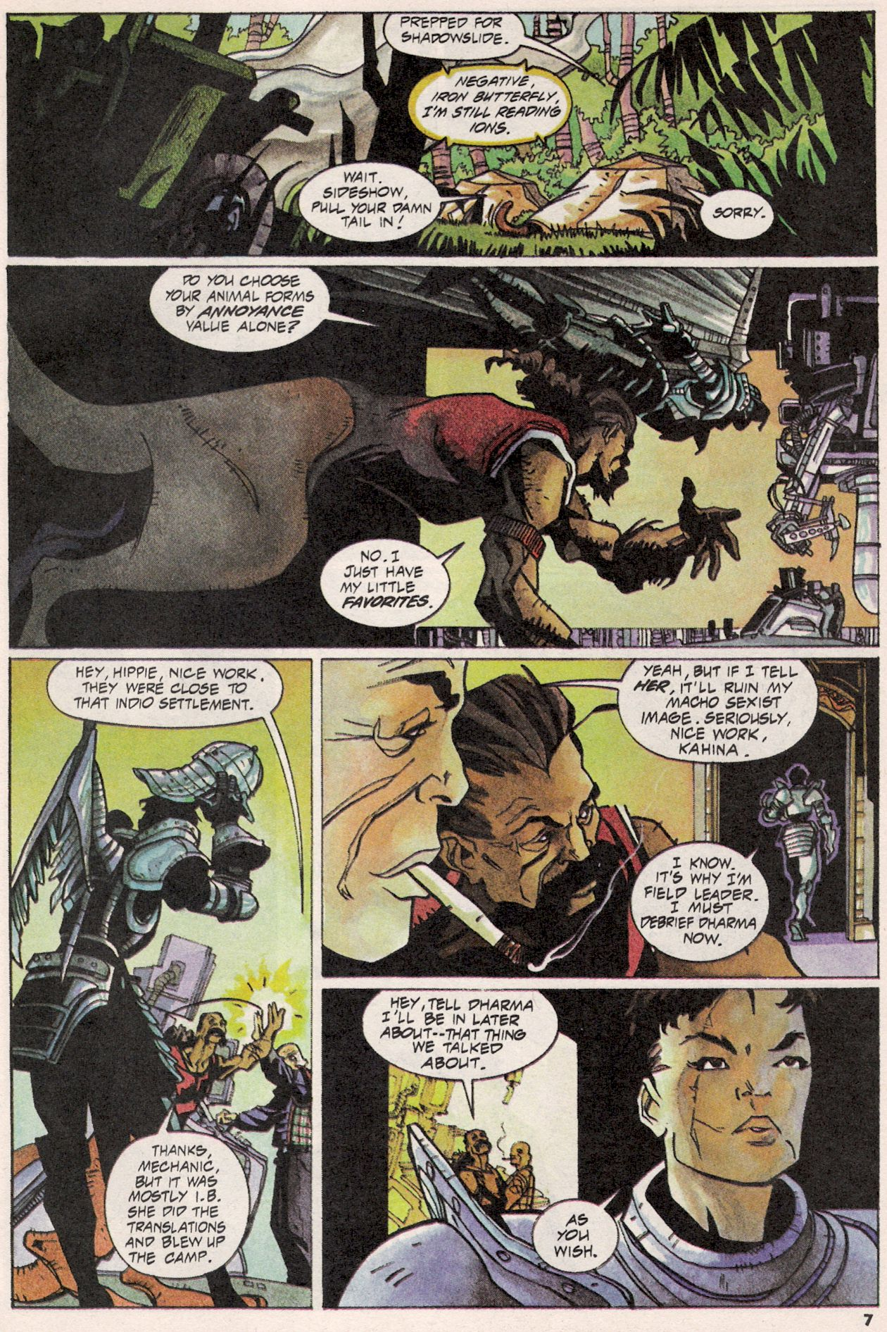 Read online Shadow Cabinet comic -  Issue #3 - 6