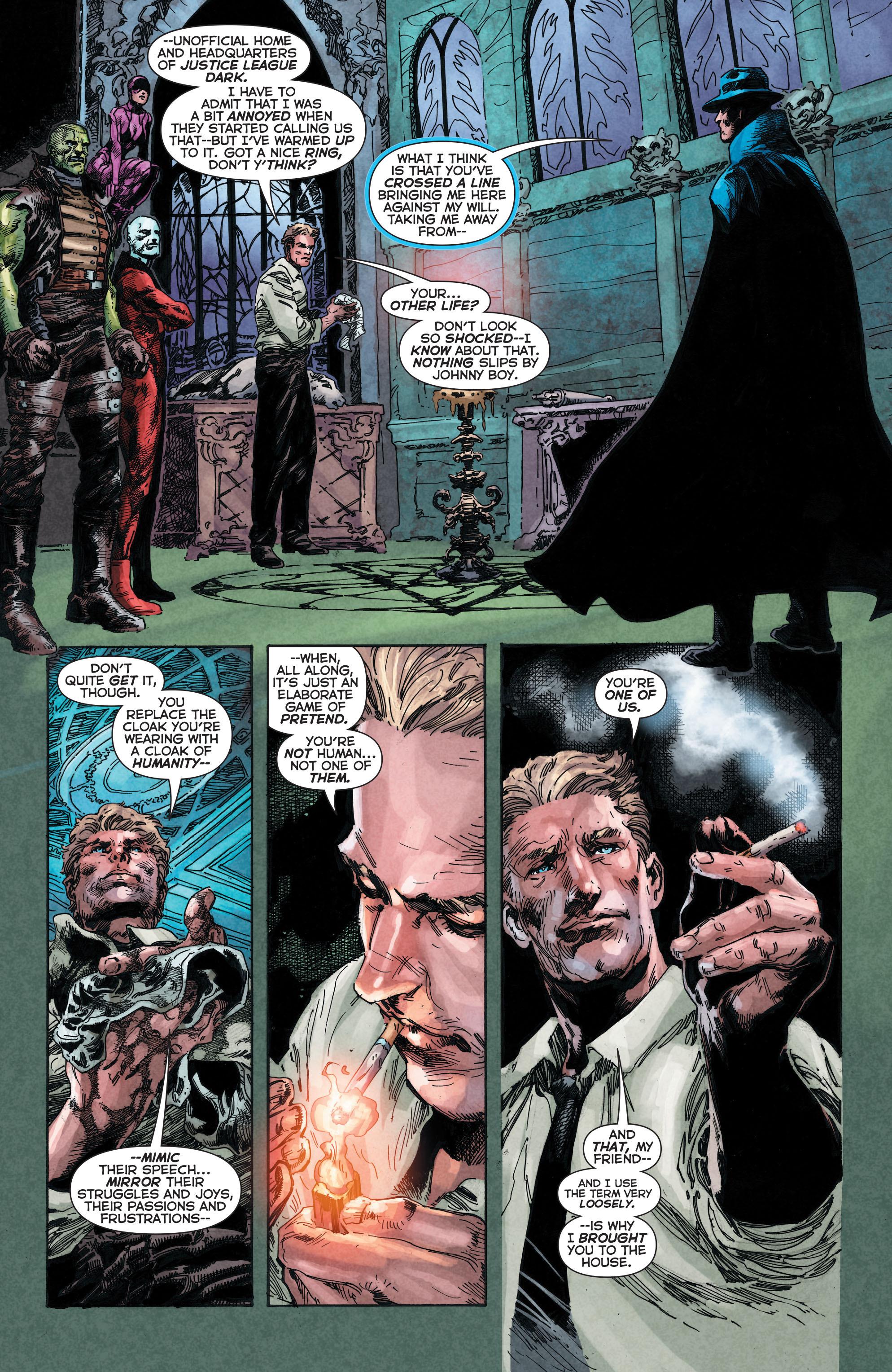 Read online Trinity of Sin: The Phantom Stranger comic -  Issue #4 - 9