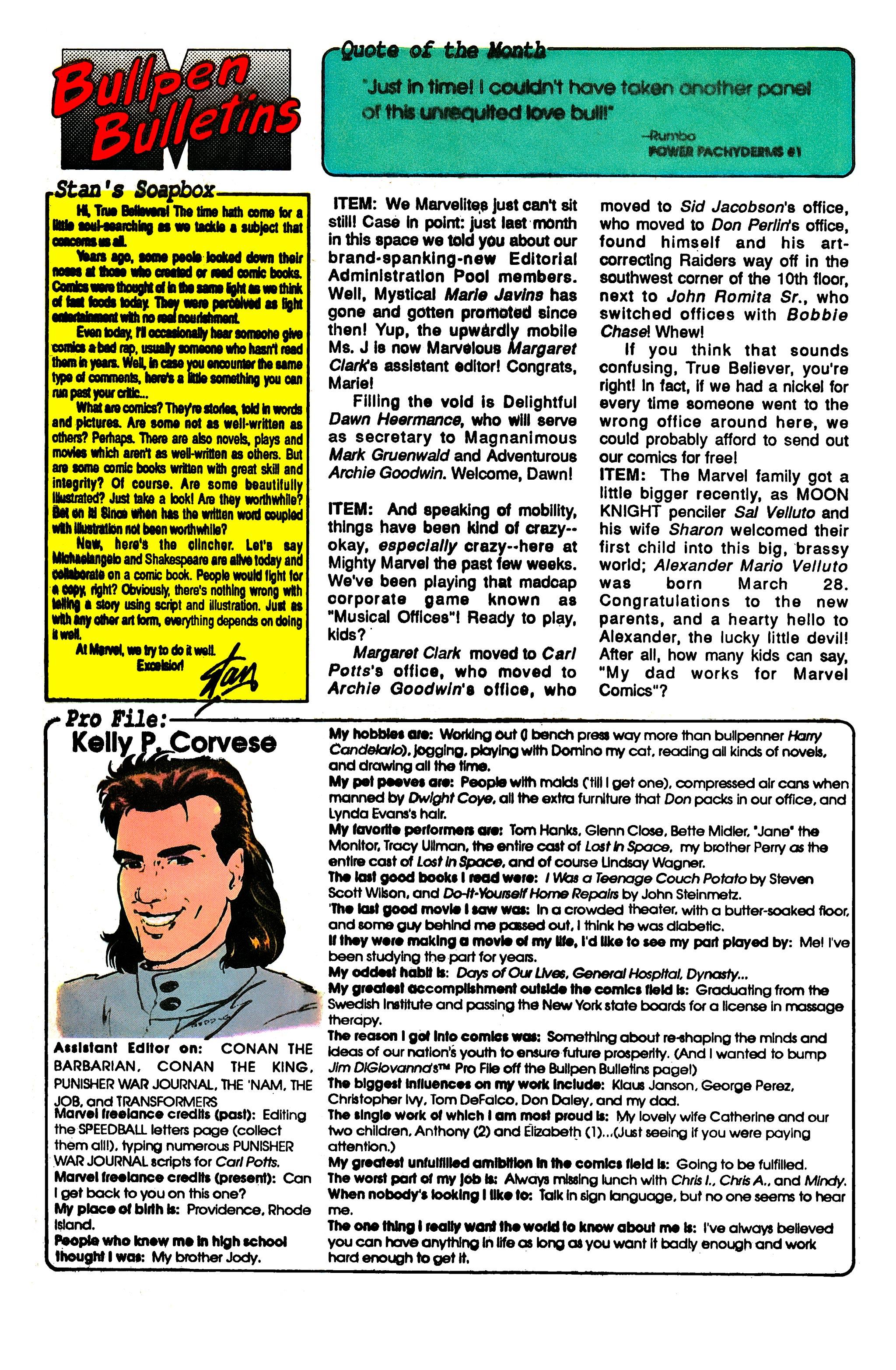 Read online Uncanny X-Men (1963) comic -  Issue #248 - 20