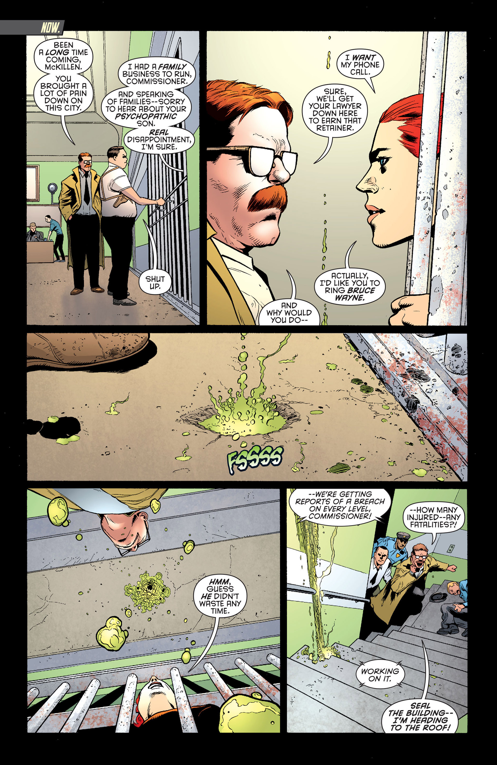 Read online Batman and Robin (2011) comic -  Issue #25 - Batman and Two-Face - 2
