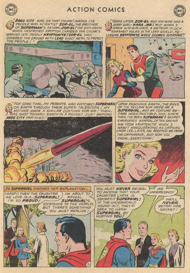 Read online Action Comics (1938) comic -  Issue #285 - 7