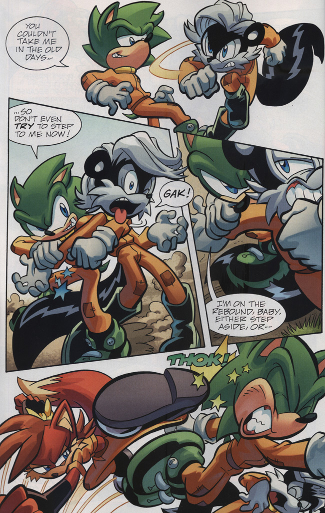 Read online Sonic Universe comic -  Issue #31 - 6