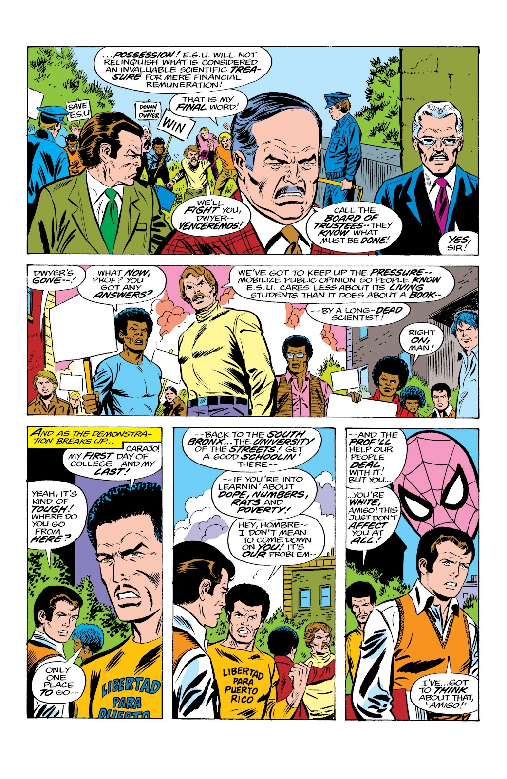 Read online Marvel Masterworks: The Spectacular Spider-Man comic -  Issue # TPB (Part 2) - 41