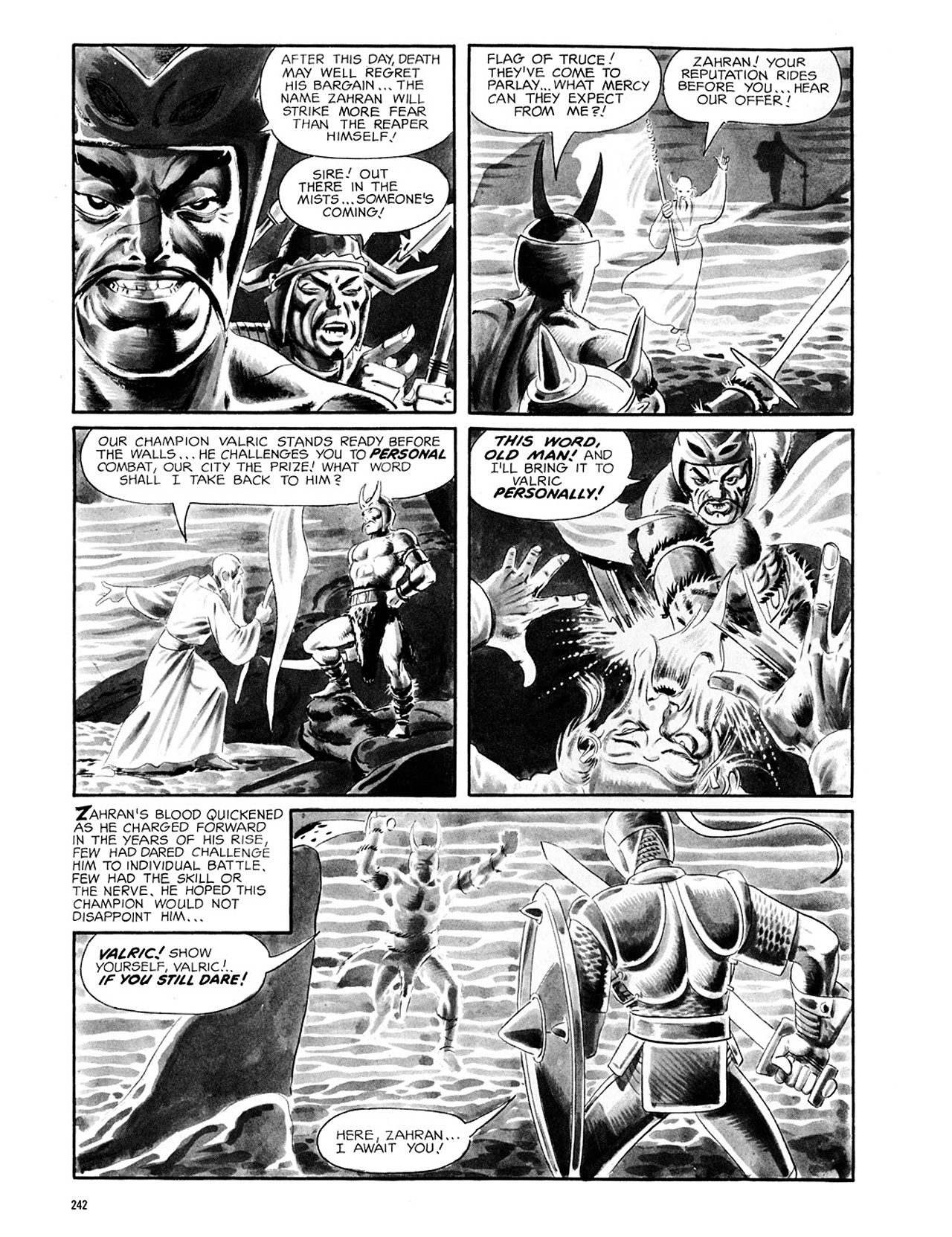 Read online Eerie Archives comic -  Issue # TPB 2 - 243