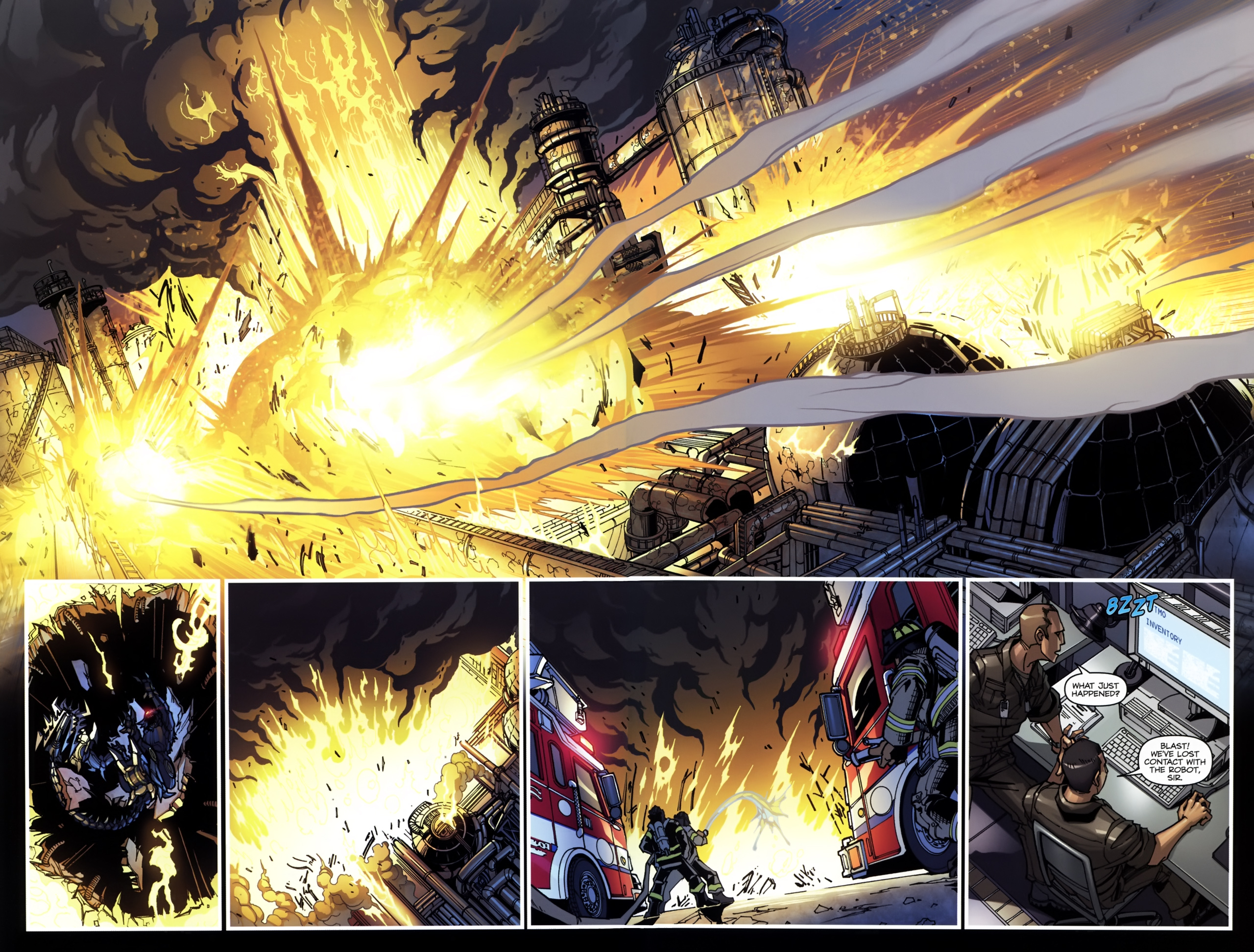 Read online Transformers: Tales of The Fallen comic -  Issue #5 - 22