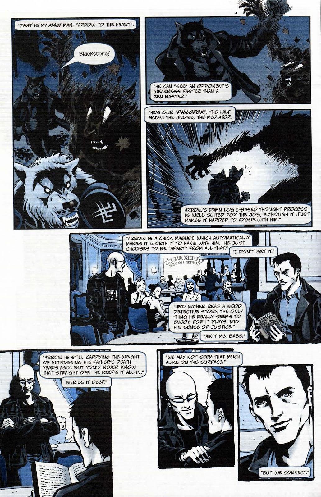 Read online Werewolf the Apocalypse comic -  Issue # Get of Fenris - 8